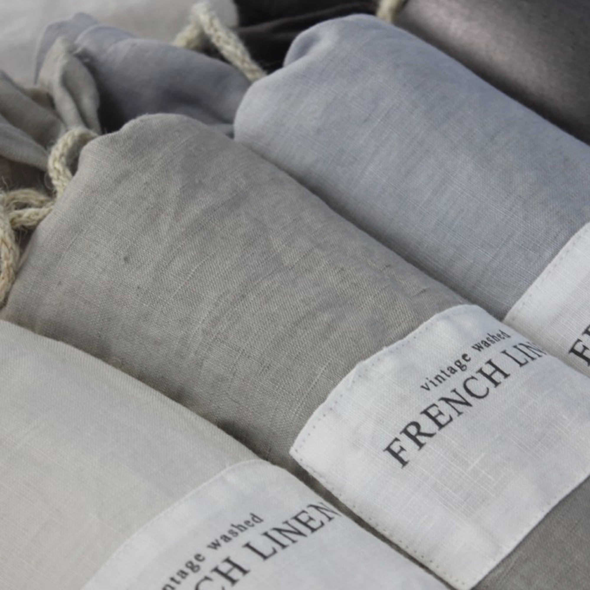 100% French Linen Duvet Cover