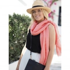 100% Large Cashmere Pashmina with Twisted Tassles (various colours available)
