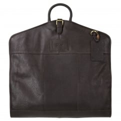 Harper Leather Suit Carrier