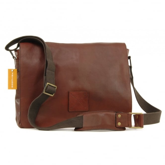 Ashwood Westminster Laptop Messenger Bag