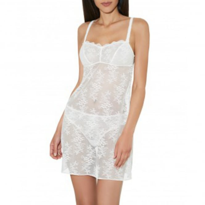 A L'Amour Pearl Lace Short Chemise