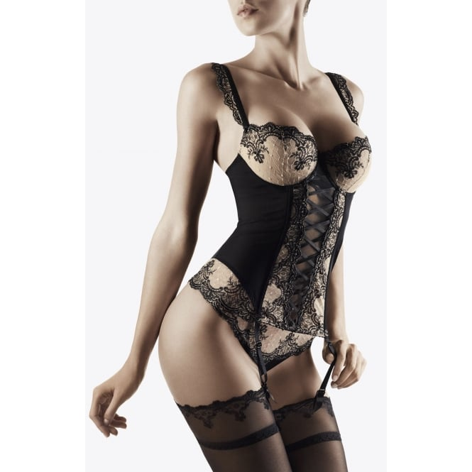 Aubade Passion Nocturne Embroidered Moulded Basque