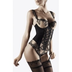 Passion Nocturne Embroidered Moulded Basque
