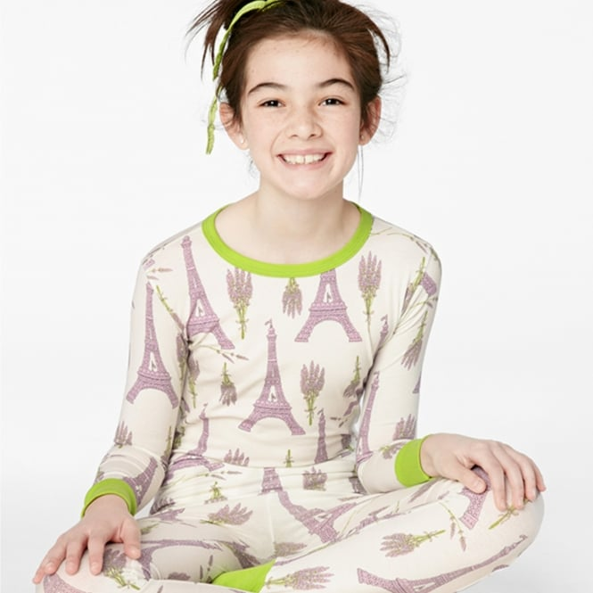 BedHead Lavender Eiffel Stretch L/S 2pc Tweens