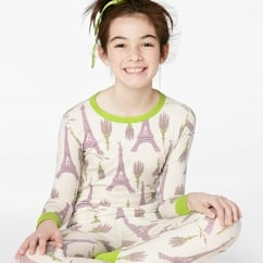 Lavender Eiffel Stretch L/S 2pc Tweens