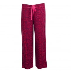 Berry Print Lightly Brushed Woven Pyjama Pant