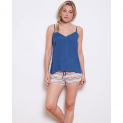 Bow Woven Spiral Cotton Shorts