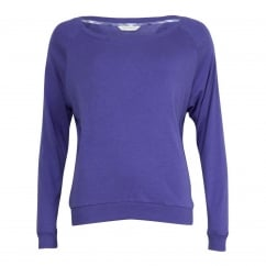 Dandelion Shower Blue Thermaknit Longsleeve Loungewear Top