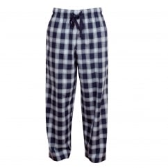 Rhythm and Blues Woven Navy Check Pajama Pant