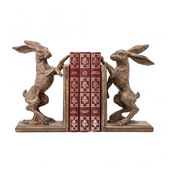 Elgin Hare Bookend Set