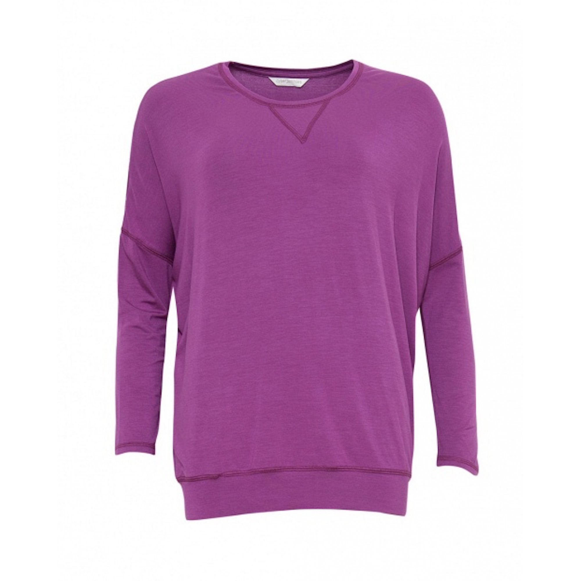 Cyberjammies Fiona Long Sleeve Knit Pyjama Top