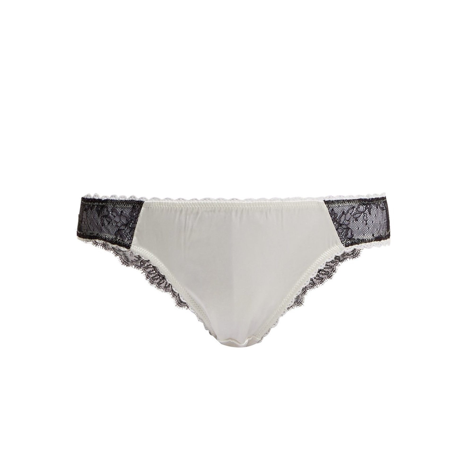 e6b3fa0100203 Gigi Giggling Silk   Lace Briefs - For Her... from The Luxe Company UK