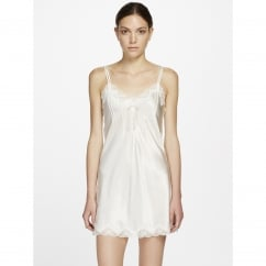 Scallop Lace Pure Silk Chemise