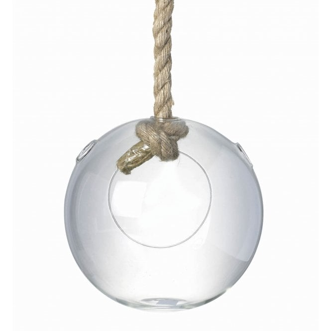 Hanging Glass Sphere Terrarium Candleholder Bed Bath Home
