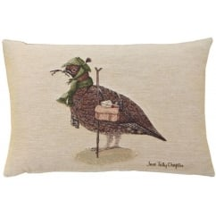 Henry Grouse Oblong Tapestry Cushion
