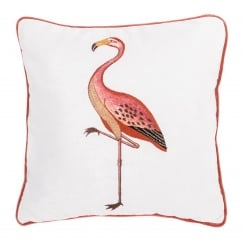 V&A Flamingo Cushion