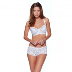 Fiore White Lace Short