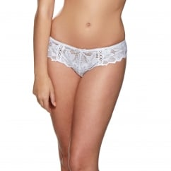 Fiore White Lace Thong