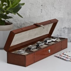 Leather Five Watch Box