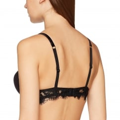 Pleasure Lace & Satin Gel Push-Up Bra
