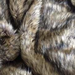 Alpine Wolf Faux Fur Throw/Blanket