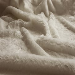 Arctic Fox Faux Fur Throw/Blanket