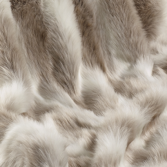 Arctic Reindeer Faux Fur Throw/Blanket