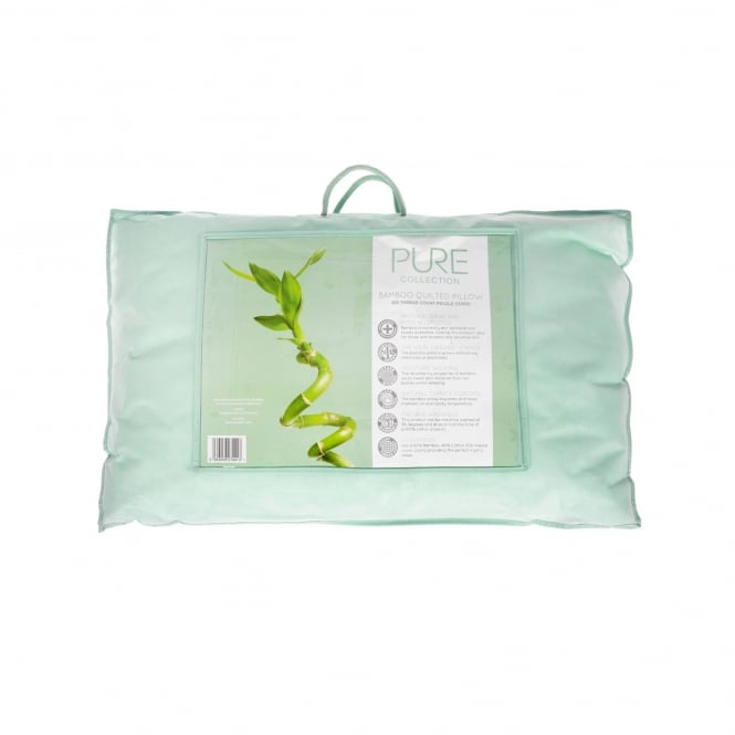 LX Luxurious Bamboo Quilted Pillow