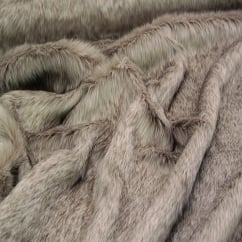 Siberian Wolf Faux Fur Throw/Blanket