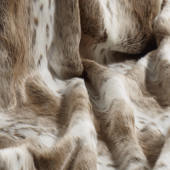 Lynx Faux Fur Throw/Blanket