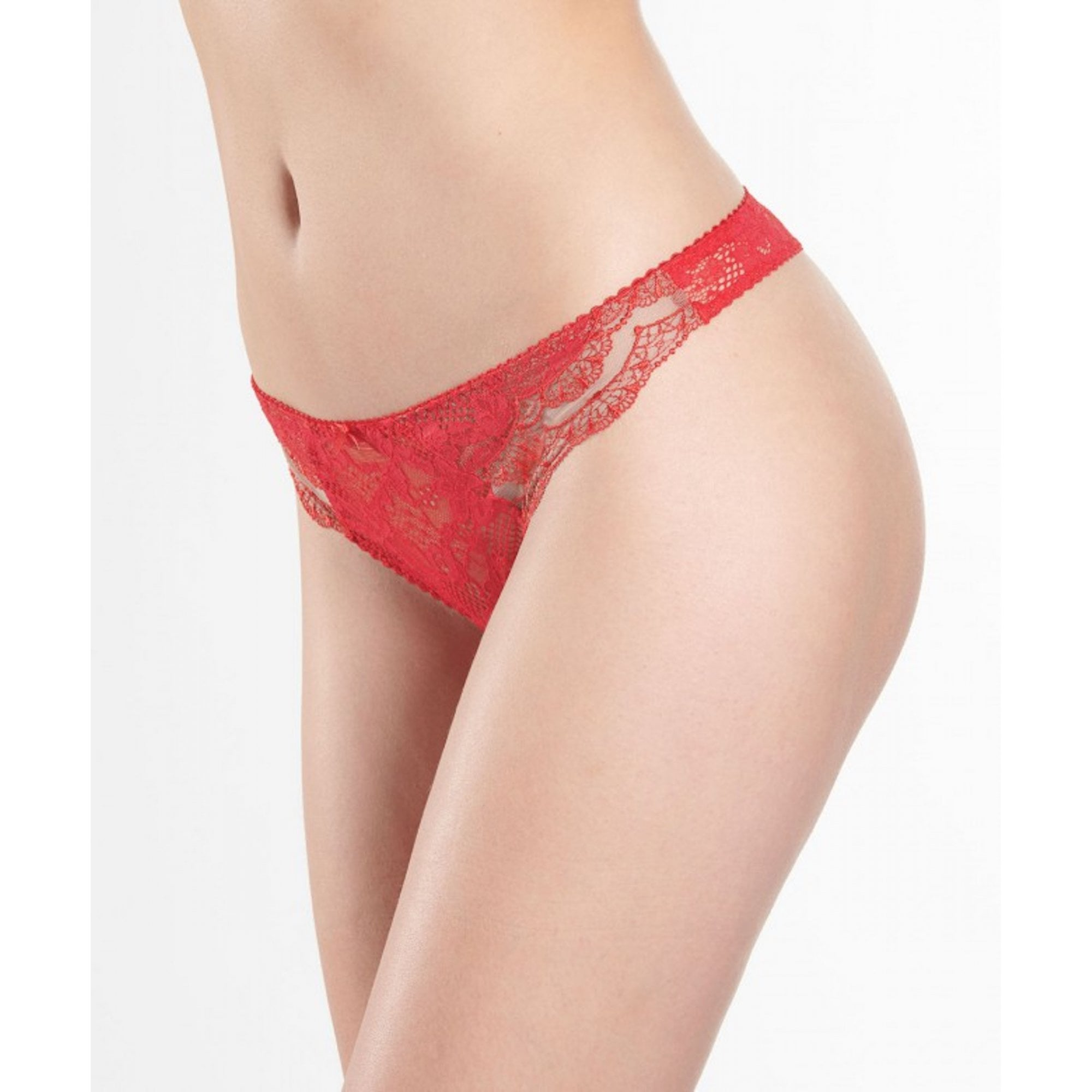 Aubade Soleil Nocturne Gala Red Tanga Brief