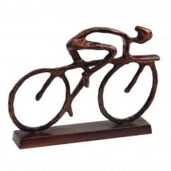 Solo Cyclist Sculpture