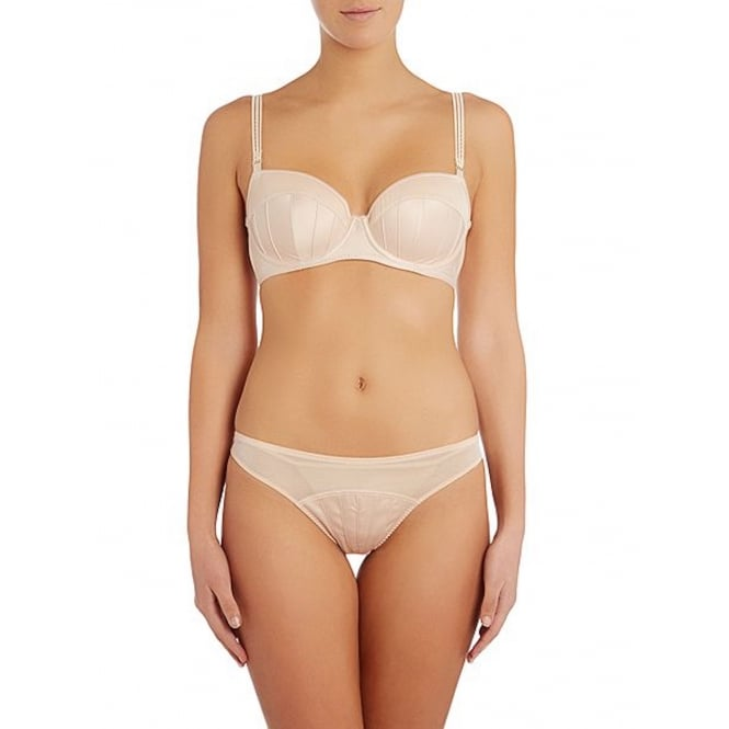 Stella McCartney Cherie Sneezing Thong in Apricot